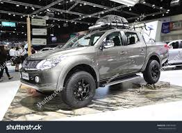 mitsubishi triton 2014 bangkok november 28 mitsubishi all ner stock photo 236018428