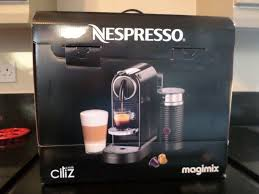 nespresso coffee nespresso coffee machine brand new unused and in box in