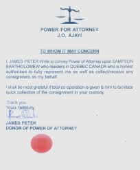 Fake Attorney Letter by Scam O Rama