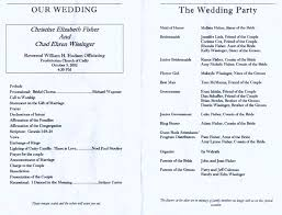 Wedding Program Sample Template Wedding Program Samples Sample Reception Template Diy Wedding