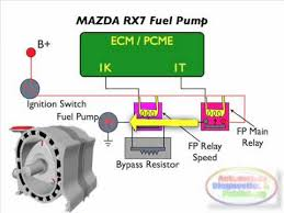 mazda rx7 rotary engine fuel electrical