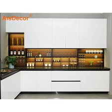 best white lacquer for kitchen cabinets best modern white lacquer kitchen cabinet with price