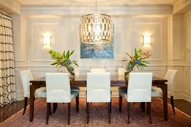 contemporary chandeliers dining room transitional with
