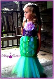 Ariel Mermaid Halloween Costume Beautiful Diy Mermaid Tail Tutu Special Mermaid