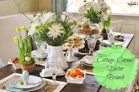 casual easter s cottage inspired casual easter brunch and tablescape