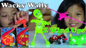halloween wind up toys wacky wally and funny z wind ups toys dusty carley skully kids