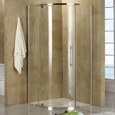tub with glass shower door shower and tub glass enclosures and shower pans signature hardware