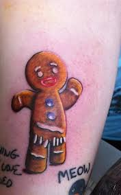 Ed Sheeran Gingerbread Man Tattoo | gingerbread man pop s illustrated man ed sheeran s many tattoos