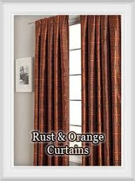 Bright Colored Kitchen Curtains Curtains Rust Colored Kitchen Curtains Decor Best 25 Burnt Orange