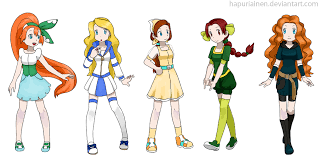 Princess Trainer Game - pokemon princesses 3 by hapuriainen on deviantart