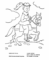 Yankee Doodle Coloring Page 2 Yankee Doodle Coloring Page Funycoloring