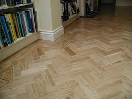 custom herringbone pattern tile floor robinson house decor