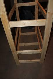 How To Build Wooden Shelf Supports by How To Build An Indoor Seed Starting Rack Cheap Old World