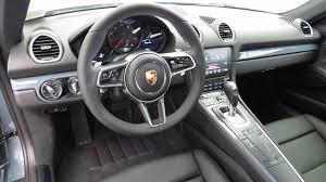 porsche graphite blue interior 2018 new porsche 718 cayman coupe for sale in phoenix az graphite