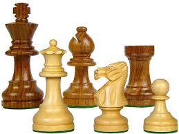 popular staunton sheesham wood chess set pieces 3