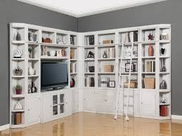 White Bookcase With Storage Wall Units Amazing White Bookcase Wall Unit White Wall Bookcases