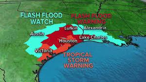 Austin Flooding Map by Flash Flood Watch Austin Alexandria La Flash Flood Warning