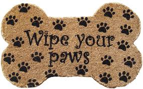 Wipe Your Paws Dog Doormat Door Mat Wipe Your Paws Inzide Architecture And Design