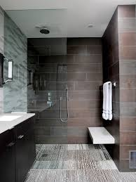 contemporary small bathroom design this bathroom look how easy that would be to clean i like