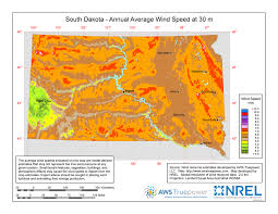 map south dakota windexchange south dakota 30 meter residential scale wind