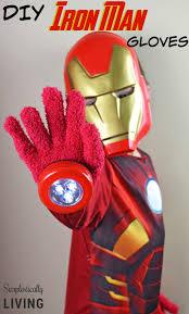 halloween iron man costume diy iron man gloves dollar store craft