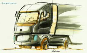 truck sketch markers by ecco666 on deviantart