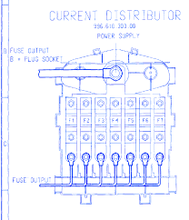 porsche boxter 2003 main fuse box block circuit breaker diagram