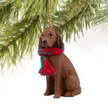 cats and dogs vizsla ornament