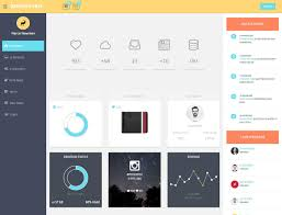 template dashboard free 20 best free bootstrap admin templates 2017 athemes