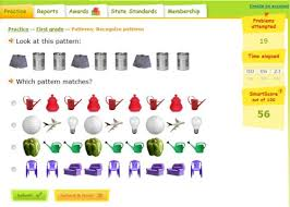 Pattern Practice Games   pattern game for first grade recognize the pattern