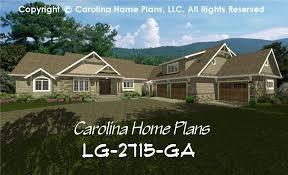 large 1 house plans large craftsman house plan chp lg 2715 ga sq ft large craftsman