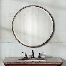 Circle Wall Mirrors Amazon Com Uttermost Nova Round Wall Mirror 24 Diam In Home