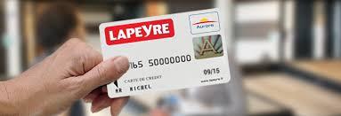 lapeyre siege social la carte de crédit lapeyre aurore et les offres de financement