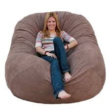 com cozy sack 6 feet bean bag chair large earth kitchen dining
