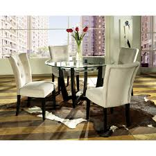 steve silver dining room sets steve silver matinee 5 piece glass dining table set contemporary