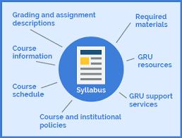 master syllabus template u2013 instructional design
