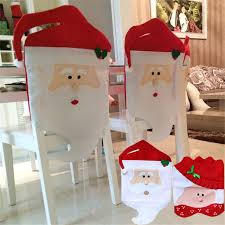 christmas chair covers new lovely christmas chair covers mr mrs santa claus