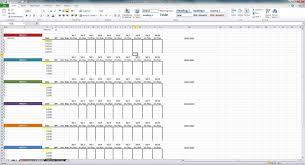 excel gantt chart template project management make employee
