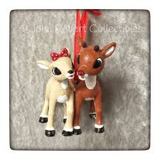 robert collectibles rudolph and clarice ornament 4057968