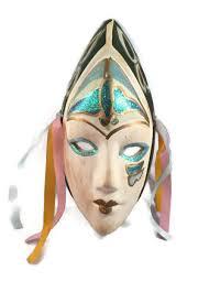 ceramic mardi gras masks for sale mardi gras mask ceramic wall hanging vintage new by derbayzvintage
