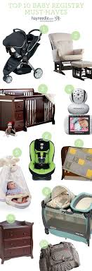 Top 10 Must Baby Items by Best 25 Baby Registry Checklist Ideas On Baby List