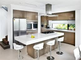 kitchen design island stylish white modern kitchen with island