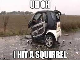 Car Accident Meme - smart car crash memes imgflip