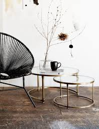 coffee table stacking round glass coffee table set brass www roseandgrey co uk stacking round glass coffee table set nosto
