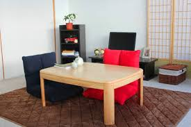 Japanese Style Coffee Table Japanese Style Kotatsu Foot Warmer Heated Table Rectangle 105cm