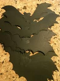 diy halloween bat garland the brass paperclip project
