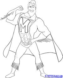how to draw metro man step by step movies pop culture free