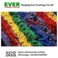 china electrostatic spray thermosetting ral color powder coating