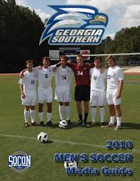 2010 georgia southern men u0027s soccer media guide by georgia southern