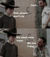 Rick Grimes Crying Meme - pin by kara bennett on the walking dead zombies pinterest crying